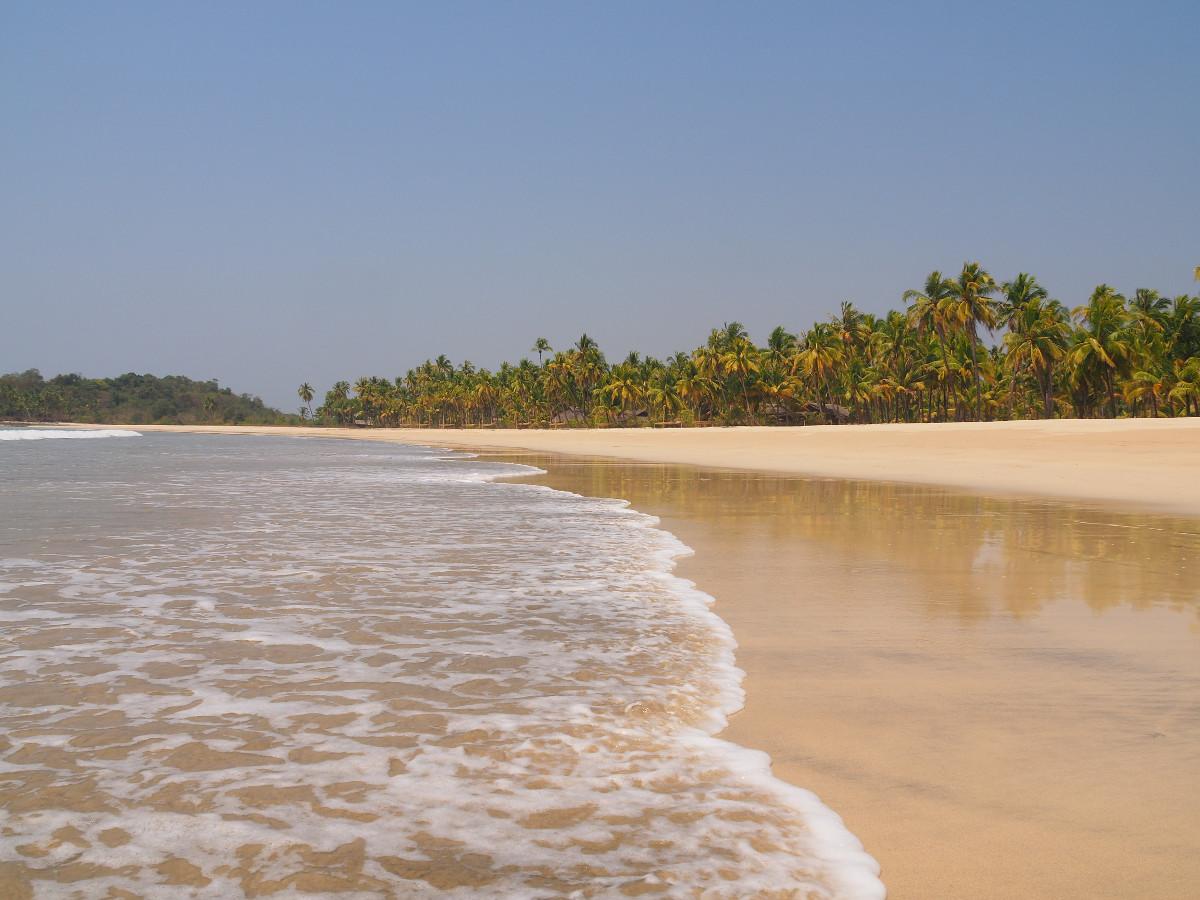 plaże w Birmie